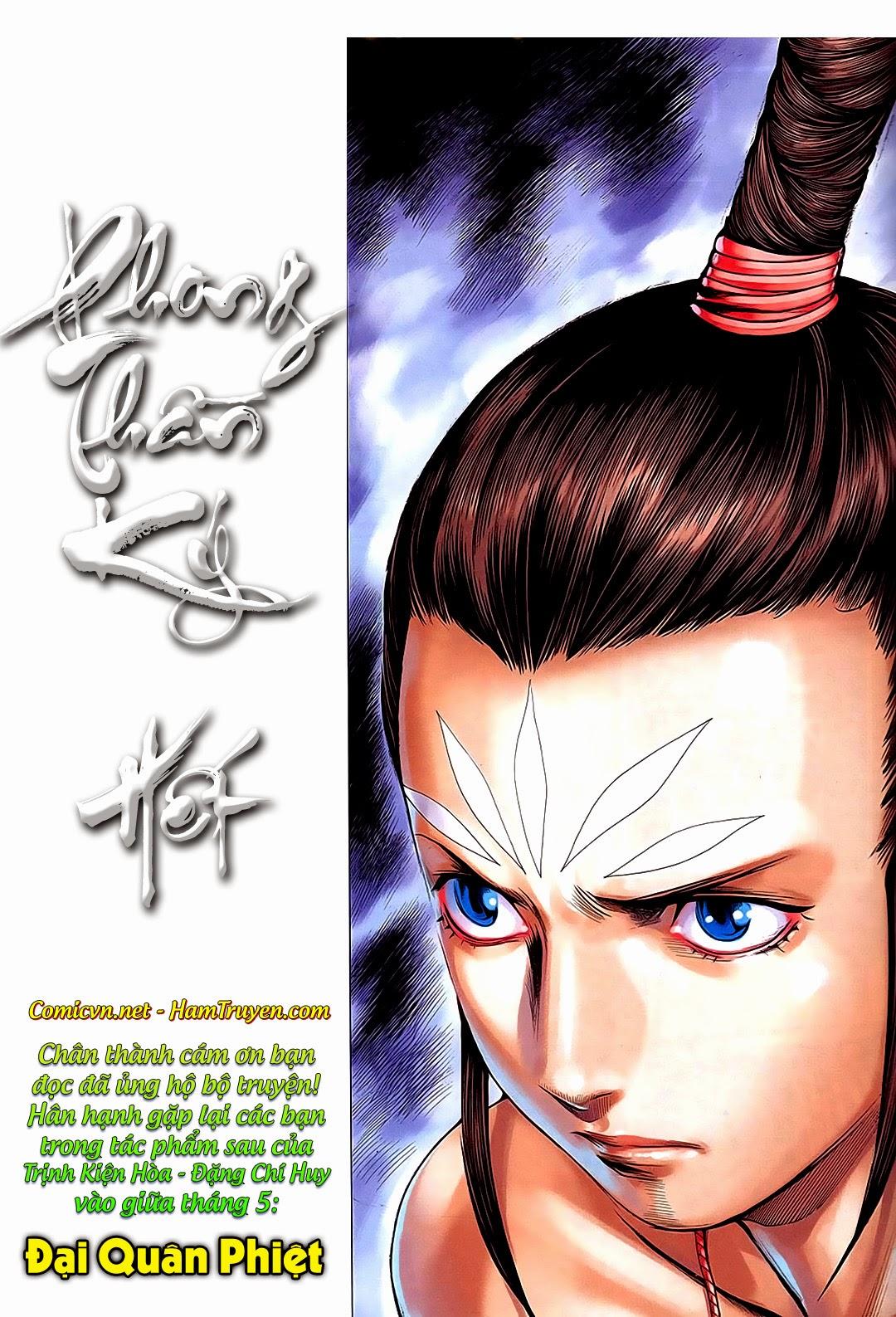 Phong Thần Ký chap 182 – End Trang 38 - Mangak.info