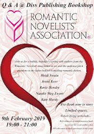 Fabulous author events...