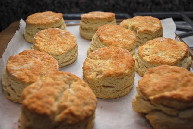 Chicken Biscuits & Sausage Gravy