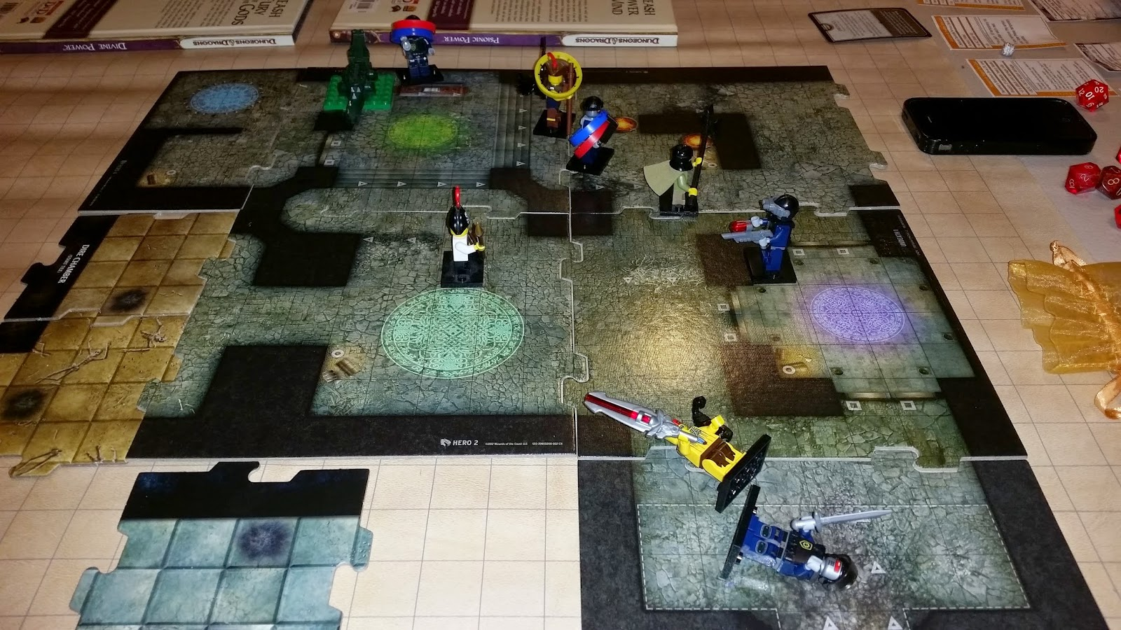 Warforged + LEGO = LEGO Movie Robo SWAT team!