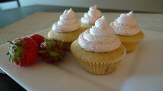 Strawberry Flavored Wedding Cake