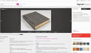 wirtualna wystawa tkacka / Digitalt Museum