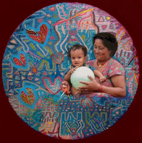 Niños Corazones - Mandala
