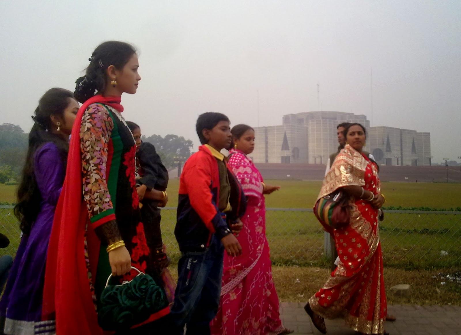 Girls in Dhaka