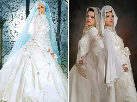 Modern Muslimah Muslim Wedding Gown ~ Muslims Complete Gallery