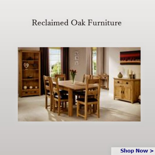Reclaimed oak Dining Furniture - Homegenies