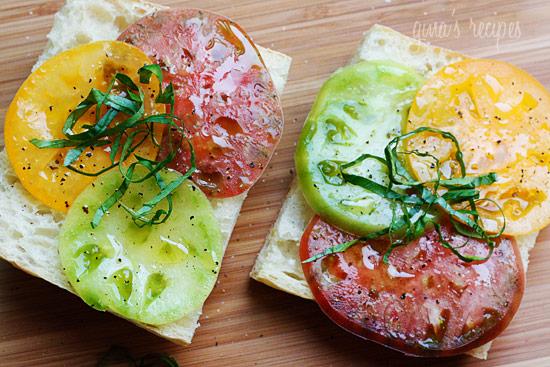 Heirloom Tomato Sandwich | Skinnytaste
