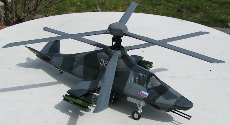 Ka-58 Black Ghost Stealth Attack Helicopter