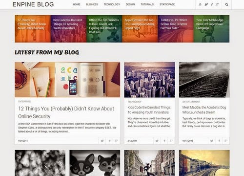 Share Free Enpine Blogger Template