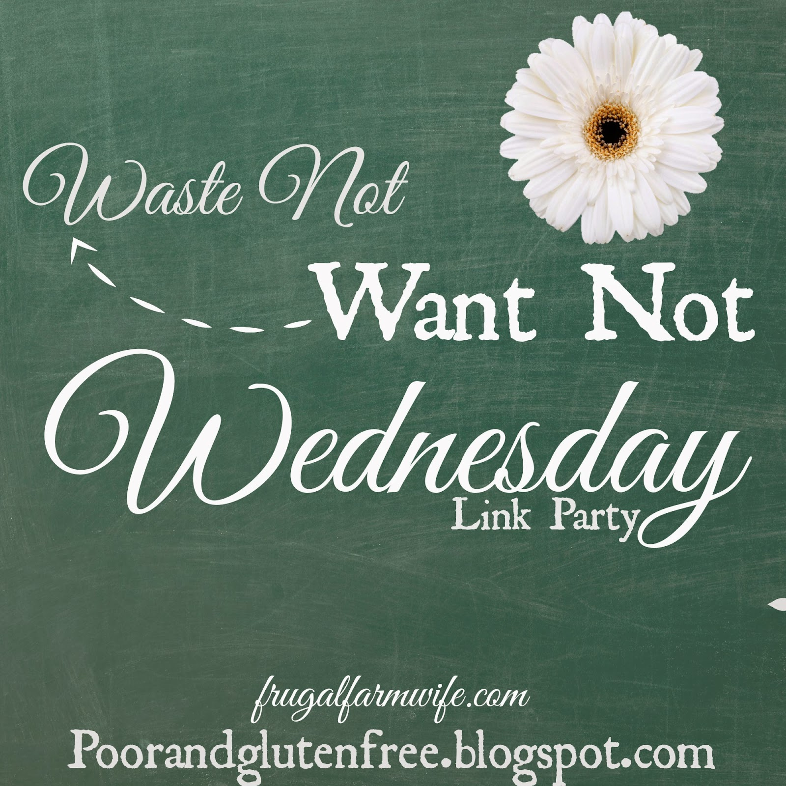 With oral allergy syndrome waste not want not wednesday is back