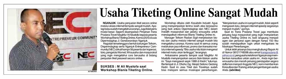 Bisnis Tiket Online, Bisnis Tiket Pesawat, bisnis tiket kereta
