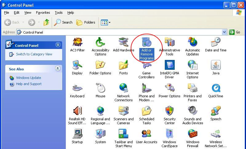 how to find add remove programs windows 8