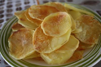 Batata Chips Assada 1