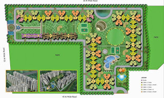 Amrapali Princely Estate :: Site Plan