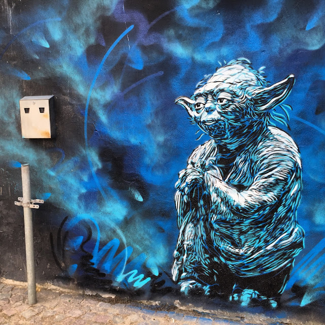 C215 spent the last few days hard at work on the streets of Horsen in Denmark where he left his mark with several pieces.