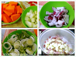Ingredientes sopa detox