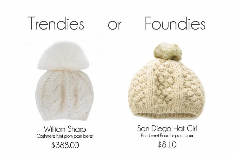 Knit caps pom pom berret