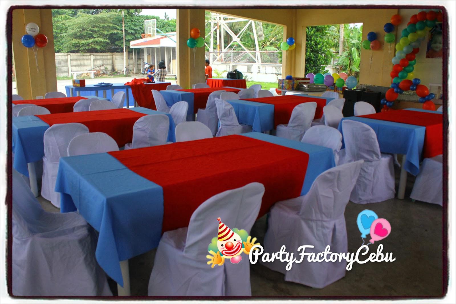 Welcome To Partyfactory Cebu Petter Johan 1st Birthday Bash