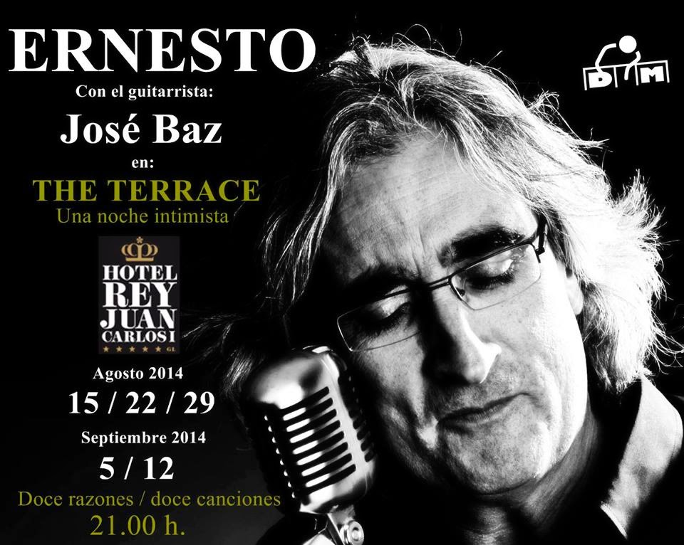 """En The Terrace """" Hotel Juan Carlos I de Barcelona con José Baz"""