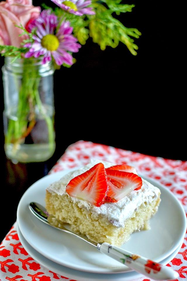 Tres Leche Cake (Vegan Recipe)