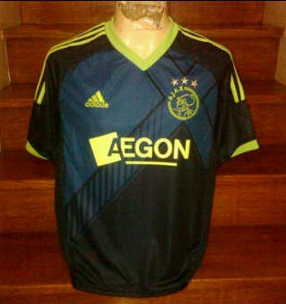 Jual Jersey Ajax Away Musim 2012/2013 Murah