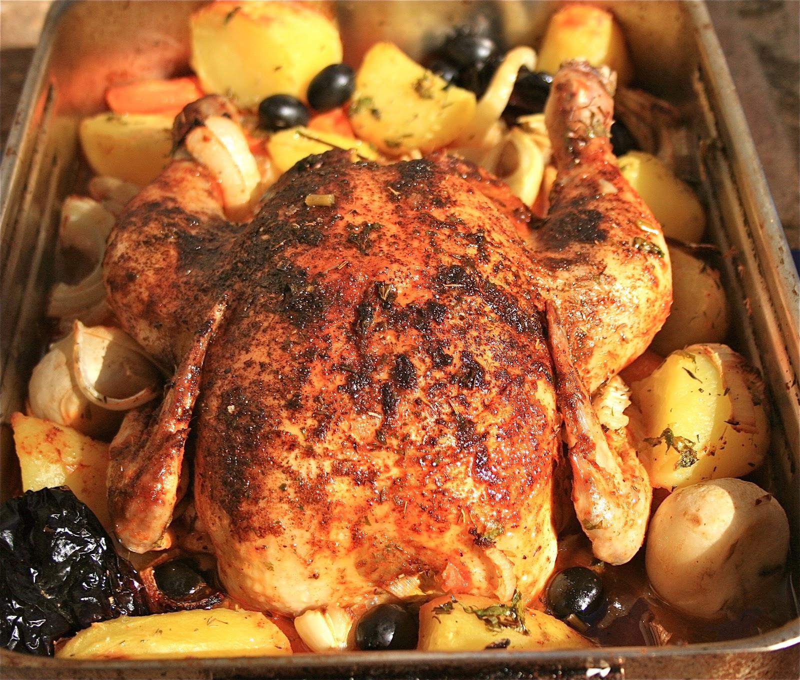 Johnny's Kitchen: Spanish Roast Chicken