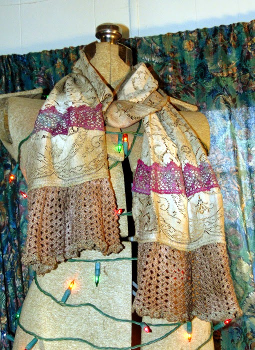 Lace scarf 01