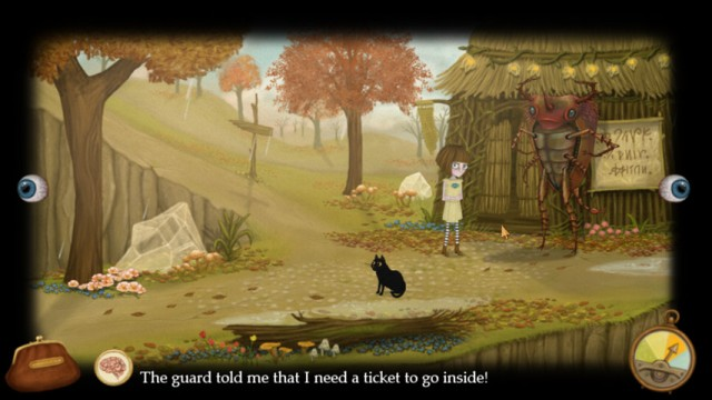 Fran Bow PC Games Gameplay
