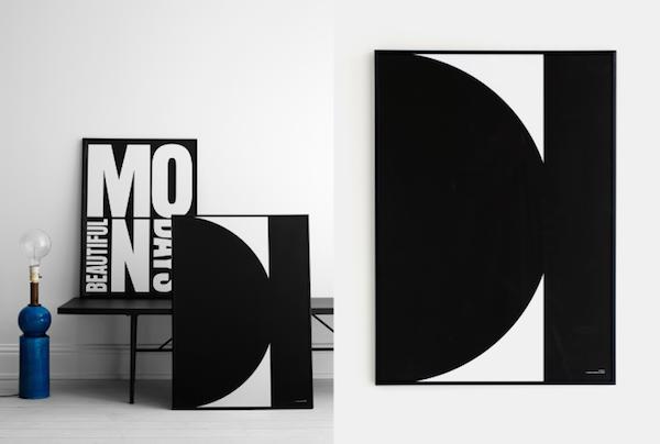 Therese Sennerholt Home : Vosgesparis words shapes new therese sennerholt prints