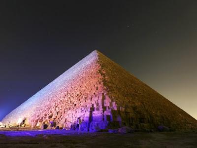 Anomalias térmicas são encontradas na pirâmide de Quéops, no Egito