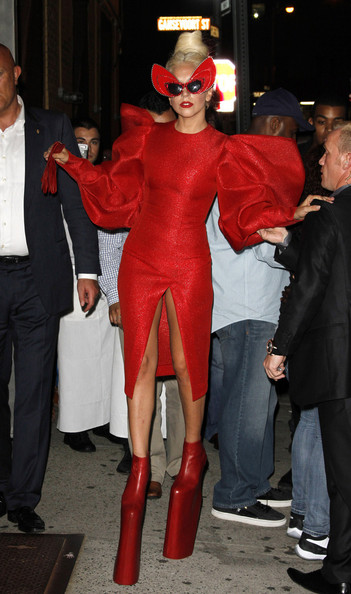 Lady Gaga - Without Panties in New York