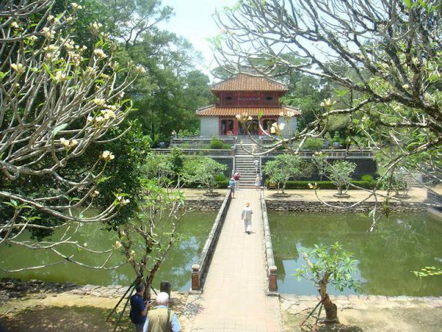 Minh Mang mausolée, Hue - Photo An Bui