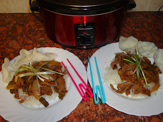 Chinese Beef cooked in the Slow Cooker