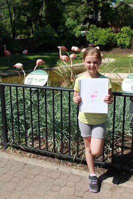Activity Idea for Flora and the Flamingo by Molly Idle via www.happybirthdayauthor.com