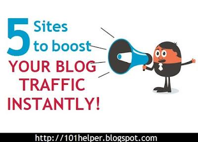 boost blogger blog traffic instantly