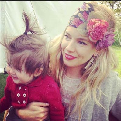 Poza zilei: Sienna Miller si dragalasa ei fiica Marlowe