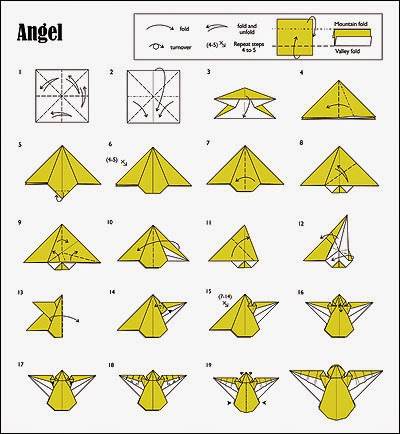christmas origami instructions