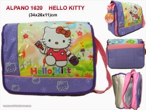 Tas Selempang Sekolah Anak TK dan SD Alpano 1621 Hello Kitty  Terbaru Murah dan Bagus