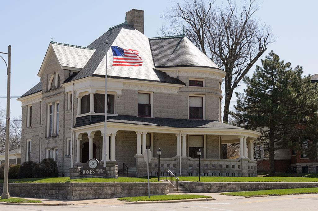 The William J. McAlpine House - Dixon, IL