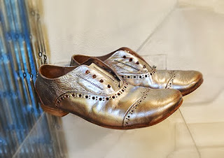 Marsèll metallic tap shoes.