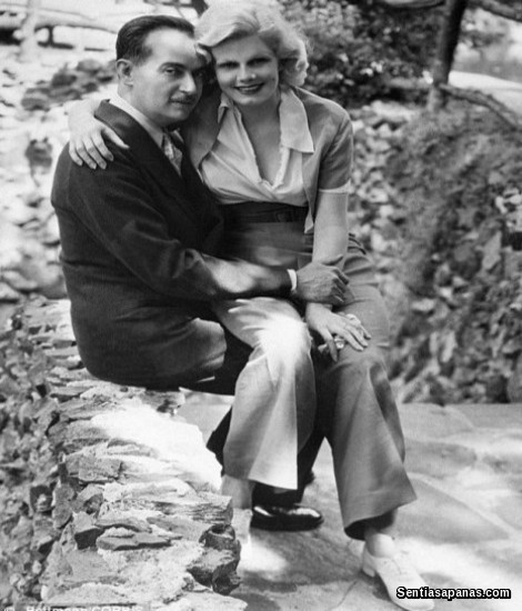 Jean Harlow and Paul Bern