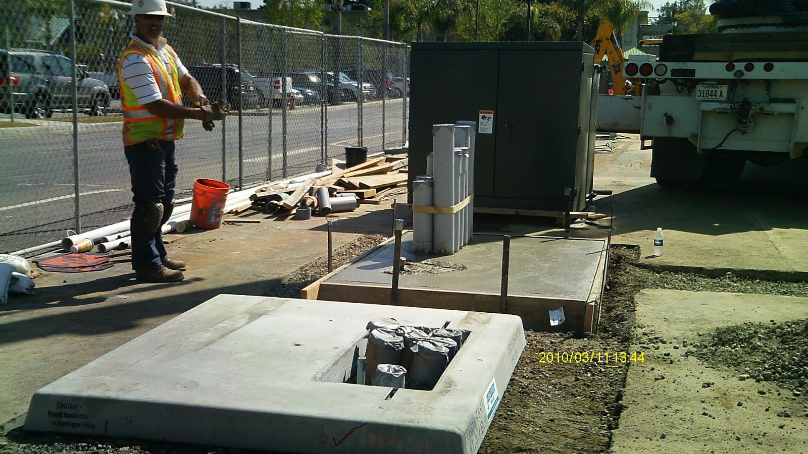 Pvc Burial Vault : Duct bank construction in toronto horizontal directional