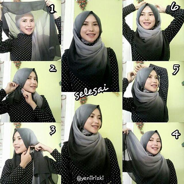 Tutorial Hijab Sederhana Ke 3 | newhairstylesformen2014.com