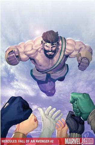 «Hércules», en la versión de Marvel