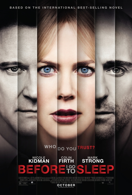 BEFORE I GO TO SLEEP (2014) movie review by Glen Tripollo