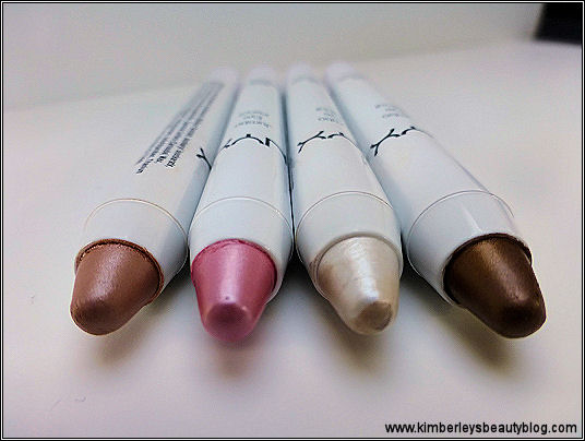NYX Jumbo Eyeshadow Pencils