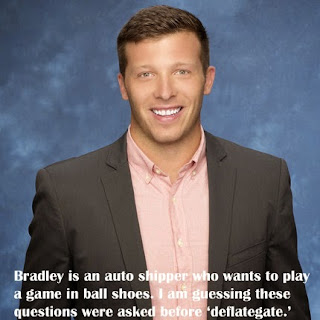 Bradley is on The Bachelorette Season 11