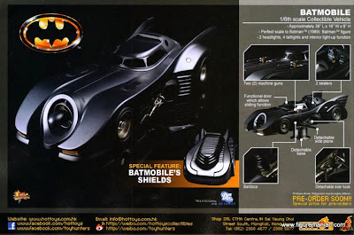 Batman 1989 Batmobile Toy This Hot Toys