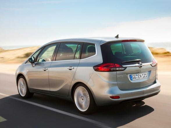 2012 Opel Zafira Tourer Specification