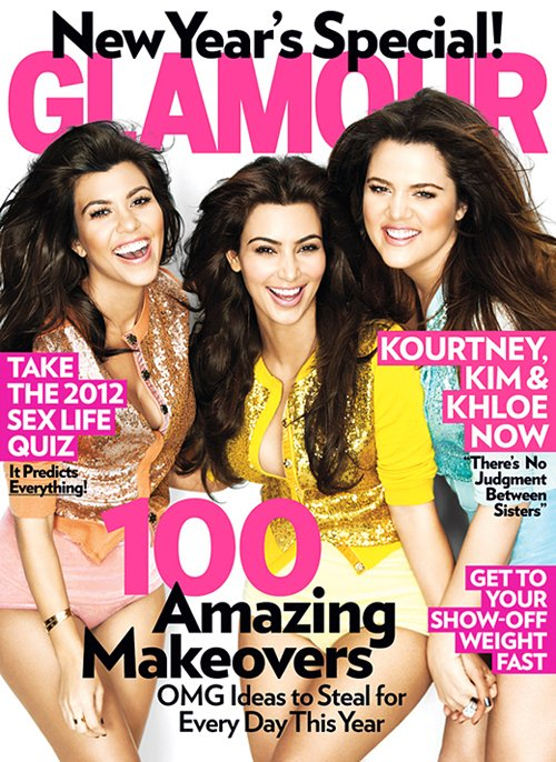 The Kardashians Get Fun And Flirty For GLAMOUR Magazine!